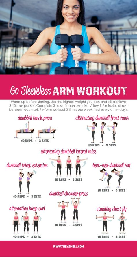 Me Time at the Gym - Get Your Arms in Shape for Spring Fashion