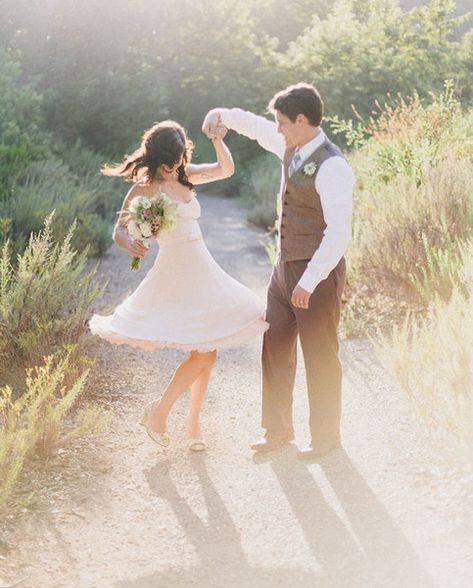 Pro: It Makes it Less of a Big Deal - The Pros and Cons of Eloping - Photos
