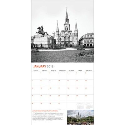 2018 Then and Now Wall Calendar - New Orleans | Products