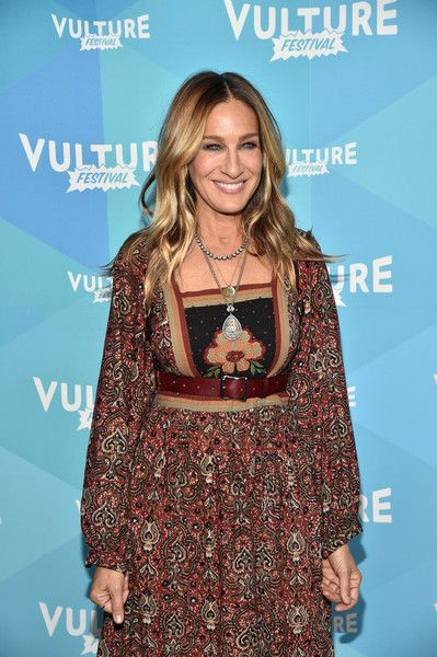 Actress Sarah Jessica Parker attends Sarah Jessica Parker and Adam Moss: In Conversation during the 2017 Vulture Festival.
