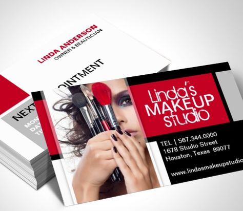 Makeup artist business cards templates mandegarfo makeup artist business cards templates reheart Gallery