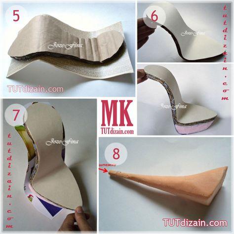 Как сделать туфли для конфет 587