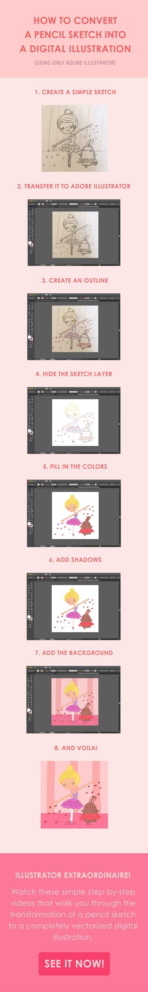 Infographic tutorial illustrator cs3 gradient