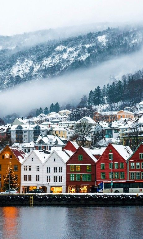30 Beautiful Winter Wonderlands Around the World