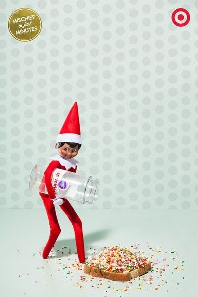 He Helps You Out With Breakfast - Elf On The Shelf Ideas - Photos