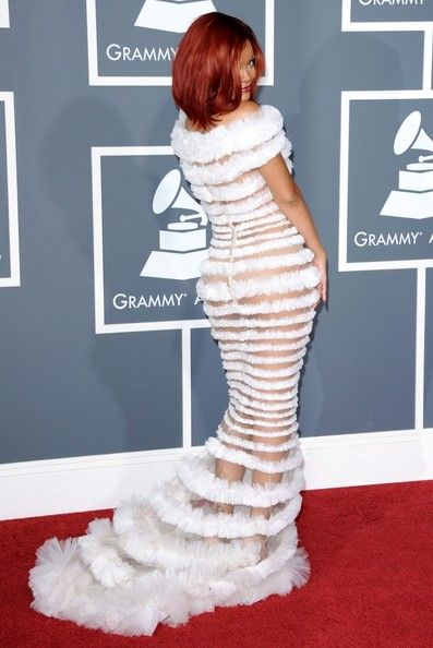 The Only Grammy Dresses You Need to Remember   Rihanna, 2011 Grammy Awards