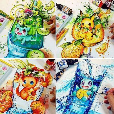 Pick your starter by @nashimanga  _ Follow @artistic_unity_  Follow @creativ.empire For featuring info contact us kik: phanasu _ #instaart #rose #draw #drawingoftheday #picoftheday #goodmorning #artist_4_shoutout #artsanity #arts_help #artoftheday #artsy #artistic_unity_ #artist_features #drawing #nawden #phanasu #iartpost #artoftheday #illustration