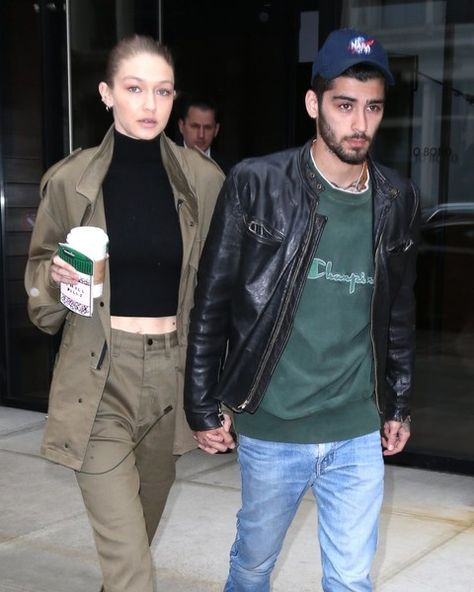 Couple Gigi Hadid and Zayn Malik are spotted walking hand in hand while out and about in New York City.