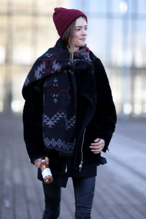 This Is How French Women Really Dress in the Winter | Beanies