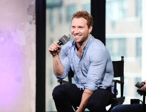 Jai Courtney attends the AOL Build Speaker Series to discuss 'Suicide Squad'.