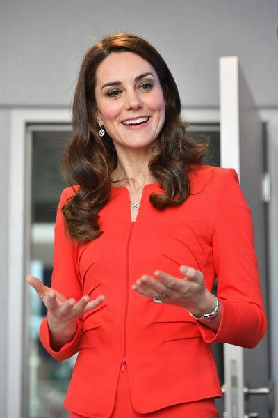 Catherine, Duchess of Cambridge attends the official opening of The Global Academy in support of Heads Together.