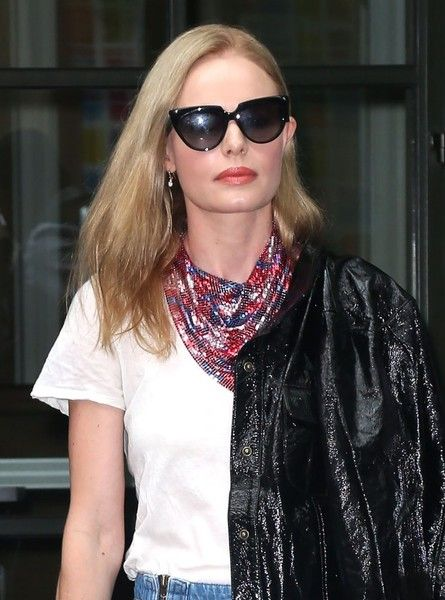 Actress Kate Bosworth is seen stepping out in New York City, New York on September 28, 2016.
