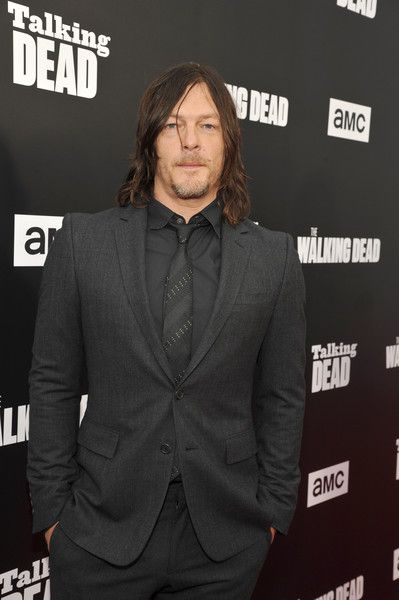 Actor Norman Reedus attends as AMC presents 'Talking Dead Live' for the premiere of 'The Walking Dead.'