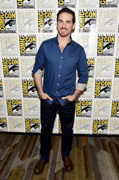 Actor Colin O'Donoghue attends the 'Once Upon A Time' Press Line at Comic-Con.