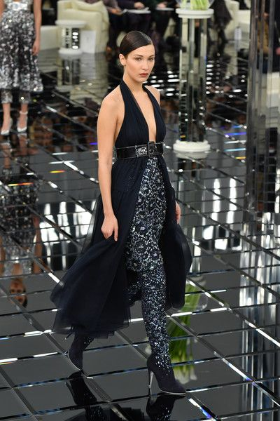 Chanel Couture, Spring 2017 - Bella Hadid's Knockout Runway Looks - Photos