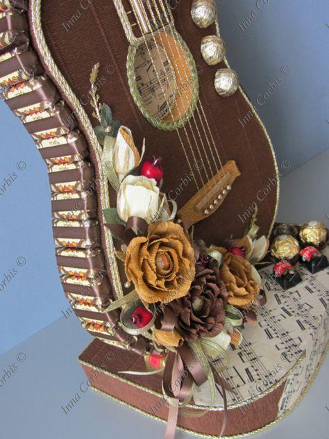 Сделать гитару своими руками сувенир 63
