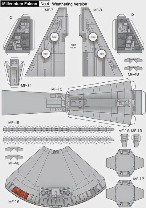 Модель корабля из бумаги схемы