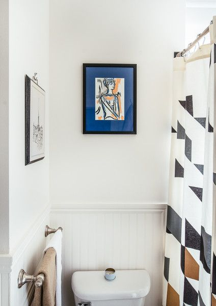 Simply Chic - A Facebook Creative Director's Art Filled Home - Photos