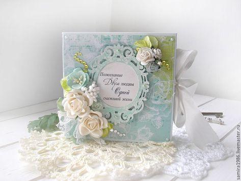 Свадебная открытка для денег скрапбукинг 31