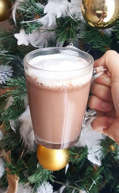 Véritable chocolat chaud aux epices