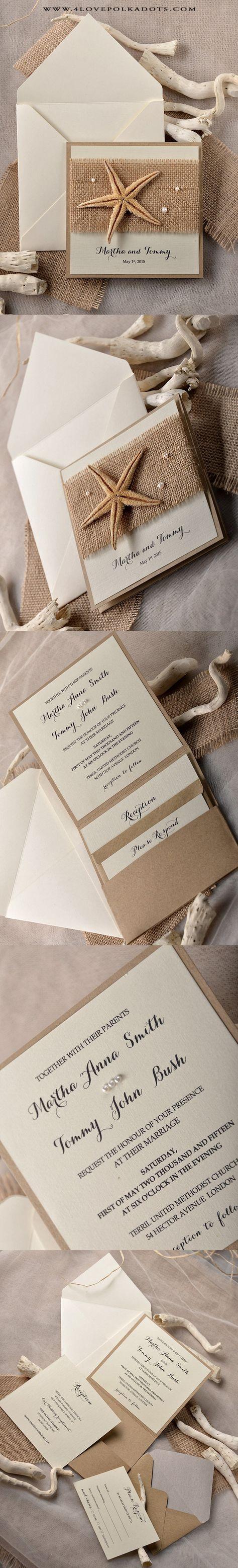 Awesome Beach Theme Wedding Cards Gallery - The Wedding Ideas ...