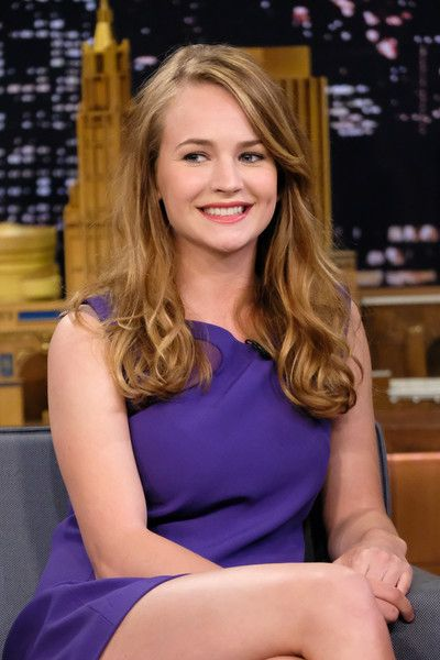 "Britt Robertson Visits ""The Tonight Show Starring Jimmy Fallon"" at Rockefeller Center on April 28, 2017 in New York City."