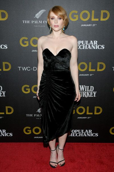 Actress Bryce Dallas Howard attends the World Premiere of 'Gold' in NYC.