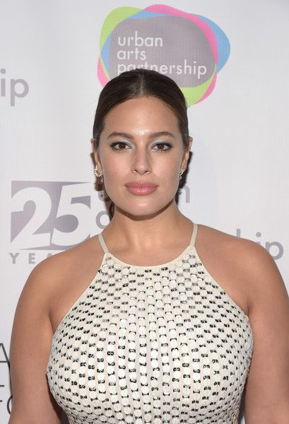 Model Ashley Graham attends the celebration of Urban Arts Partnership 25th Anniversary Benefit.