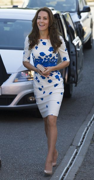 Catherine, Duchess of Cambridge visits Youthscape in Luton, England.