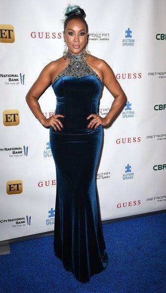 "Actress Vivica A. Fox arrives for ""Autism Speaks' La Vie En BLUE Fashion Gala"", produced by Metropolitan Fashion Week, September 29, 2016 at Warner Bros. Studios in Burbank, California.   / AFP / Robyn Beck"