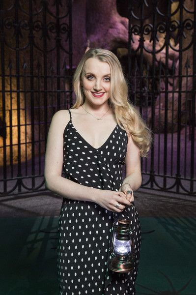Evanna Lynch attends the Warner Bros Studio Tour in the UK.