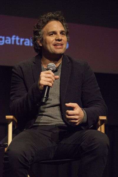 Mark Ruffalo speaks at the SAG-AFTRA Foundation's Conversations Series Presents: Mark Ruffalo of 'Spotlight.'