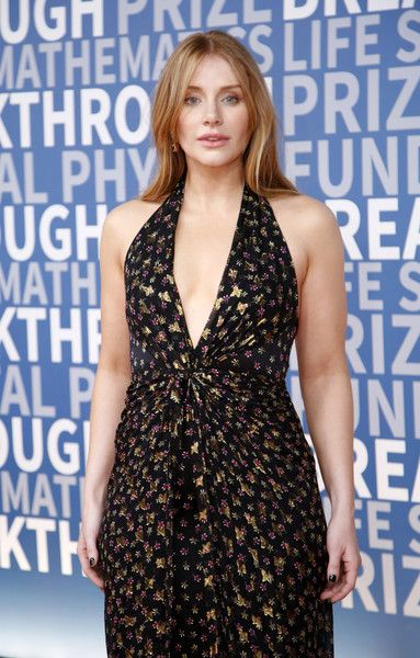 Actress Bryce Dallas Howard attends the 2017 Breakthrough Prize at NASA Ames Research Center.