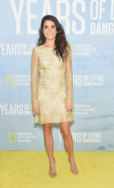 Actress Nikki Reed attends National Geographic's 'Years of Living Dangerously.'