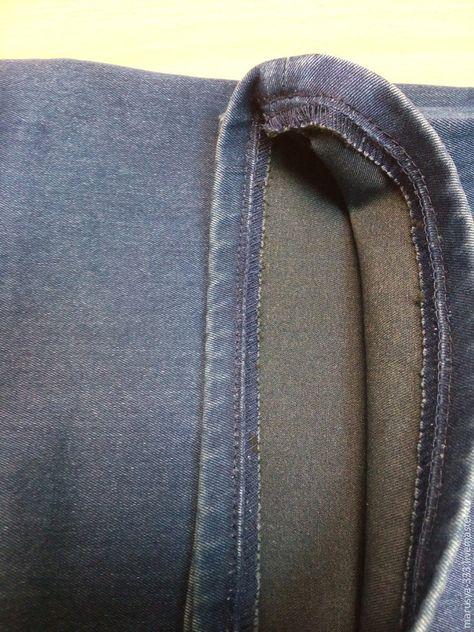 Как сшить шлевки на джинсы 74