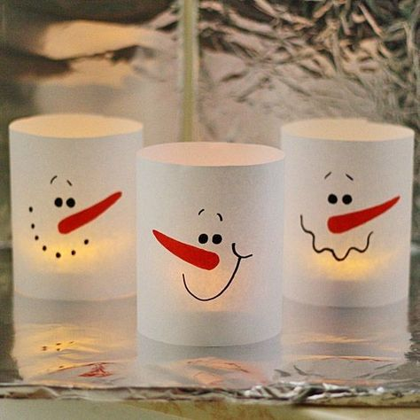 Create your own luminaries - DIY Holiday Crafts for the Whole Family - Photos