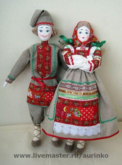 Как сшить куклу в русском стиле своими руками