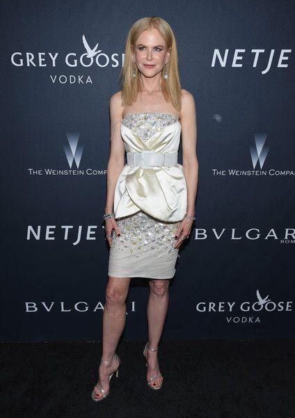 Actress Nicole Kidman attends The Weinstein Company's Pre-Oscar Dinner.