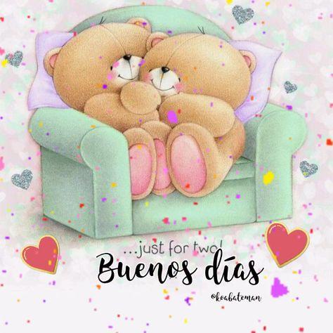 Buenos días/Good morning #buenosdias #goodmorning #ositos #teddybear