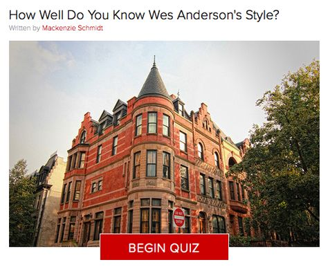 Wes Anderson is known for his exacting aesthetics, but have you been paying close enough attention?