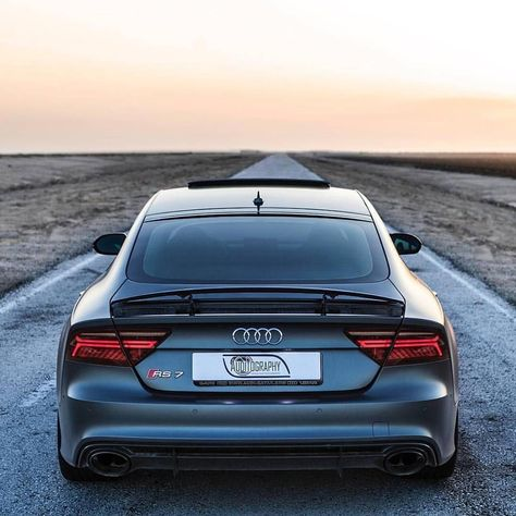 Audi RS7 life of @auditography ________________________________________________