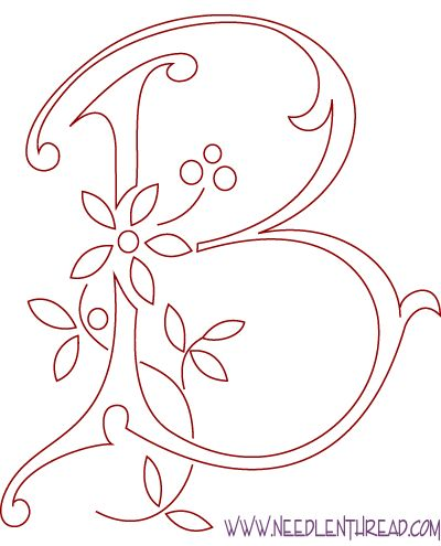 Как нарисовать букву красиво