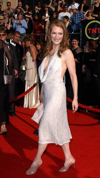 Julianne Moore Then - Red Carpet Flashback - Then & Now - Photos