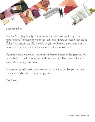 Free Printable Mary Kay Business Debut Postcards QT mandegarinfo