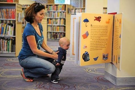 Visit the library - Ways to Make the Most of Rainy Days with Your Kids - Photos