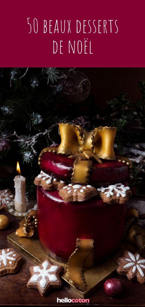 50 beaux desserts de Noël ! #recette #idéerecette #dessert #noël #gâteaux