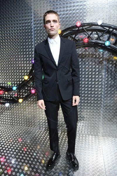 Robert Pattinson attends the Dior Homme Menswear Spring/Summer 2017 show as part of Paris Fashion Week.