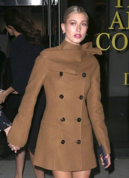 Model Hailey Baldwin is seen hitting the town with a friend in New York City.