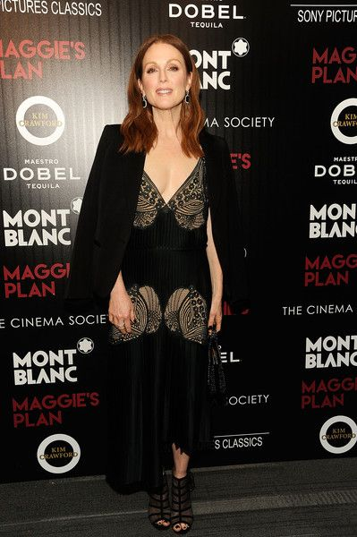 Julianne Moore attends a screening of Sony Pictures Classics' 'Maggie's Plan.'