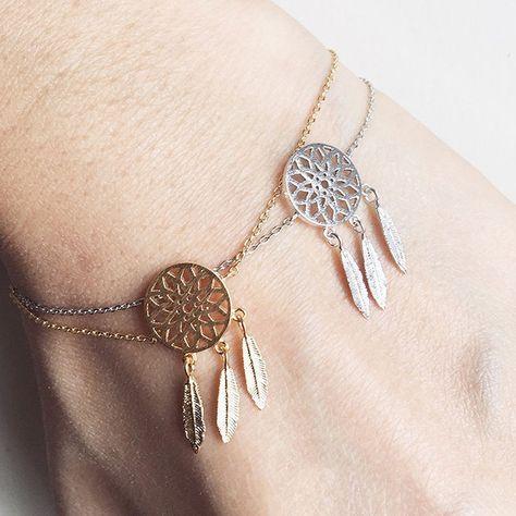 Dreamcatcher Charm Bracelet